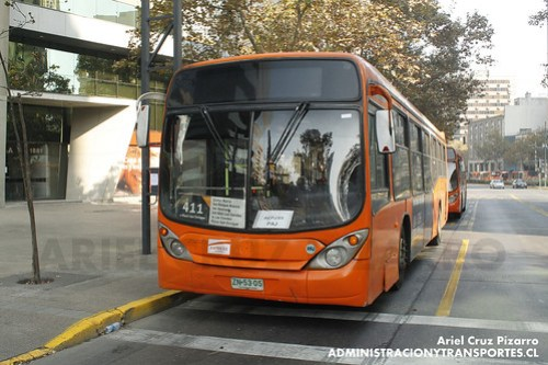 Transantiago - Express de Santiago Uno - Marcopolo Gran Viale / Volvo (ZN5305)