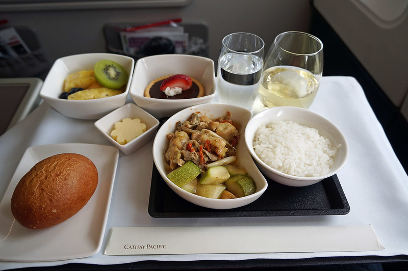 Cathay Pacific Meal