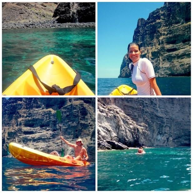 Kayak en Tenerife