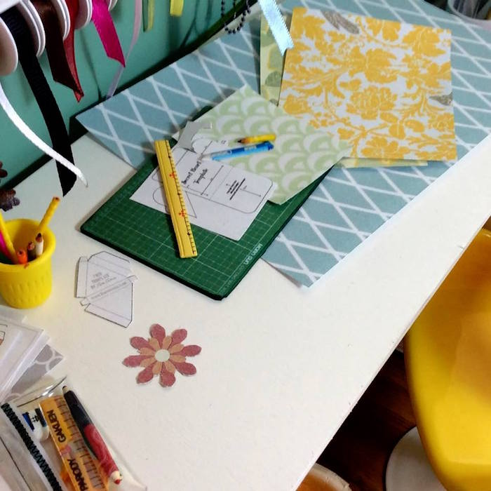 Homemade Parties DIY Party _Miniature Craft Room12