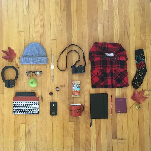 Concept 2: What's in my Herschel backpack?