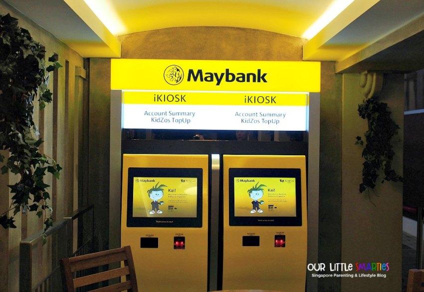 Kidzania Maybank Kiosk