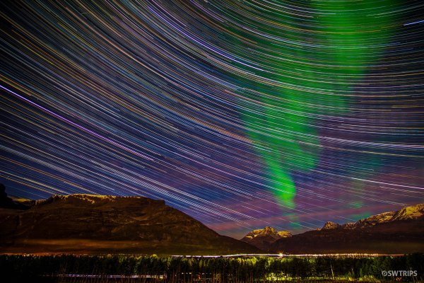 Star Trails over Aurora - Skibotn, Norway.jpg