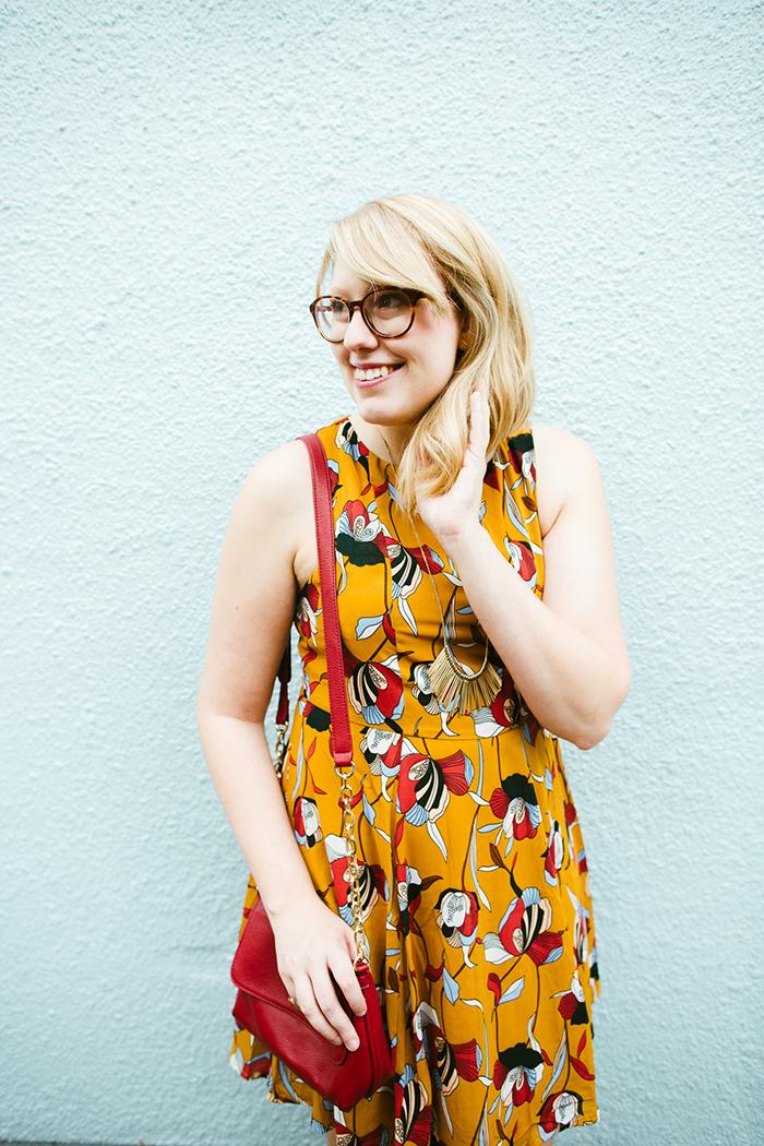 ModCloth Positive Painter Dress