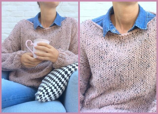 tweed knitwear (collage)
