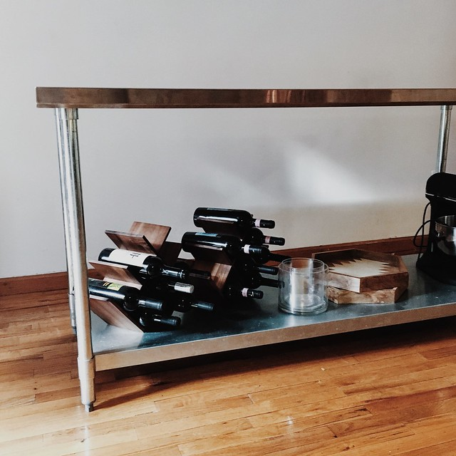 Stainless Steel Table Island