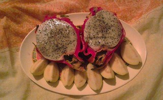 Dragonfruit and Guava