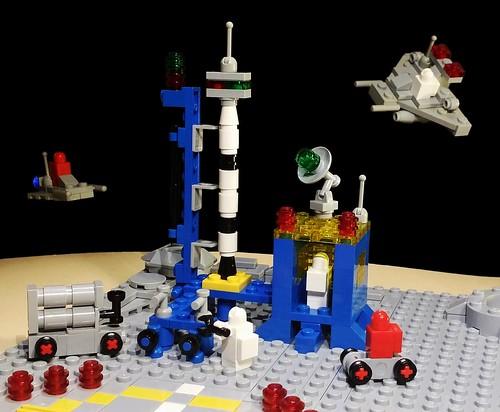 Minimized version of the 483 (920) Alpha-1 Rocket Base