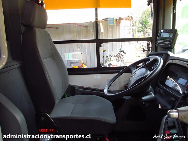 Transantiago   STP Santiago   Caio Mondego II - Mercedes Benz OC500 LE / FLXS31