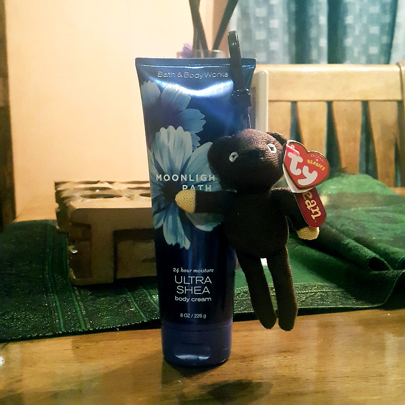 20161010_233158 Bath & Body Works & Mr. Bean TY Bear