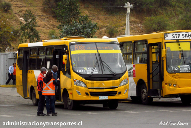 Transantiago F03 | STP Santiago | Caio Foz - Mercedes Benz / FLXS28