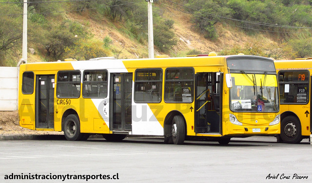 Transantiago F09 | STP Santiago | Caio Mondego H - Mercedes Benz / CJRG50