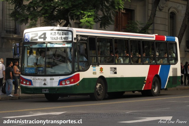 Buenos Aires 24   Etapsa   Todobus Pompeya - Agrale / KBS484