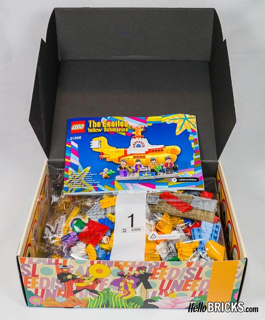 Lego Ideas #015 - The Beatles - Yellow Submarine
