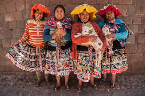 Señoras en Cusco