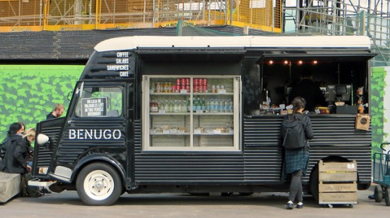food van business in London