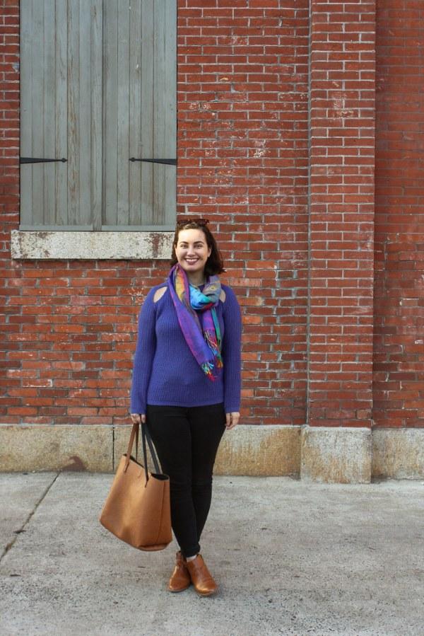 Tobi Cutout Sweater | Shades of Sarah