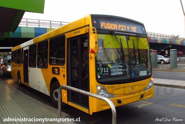 Transantiago 712 | STP Santiago | Caio Mondego H 13.2 - Mercedes Benz / FLXS33
