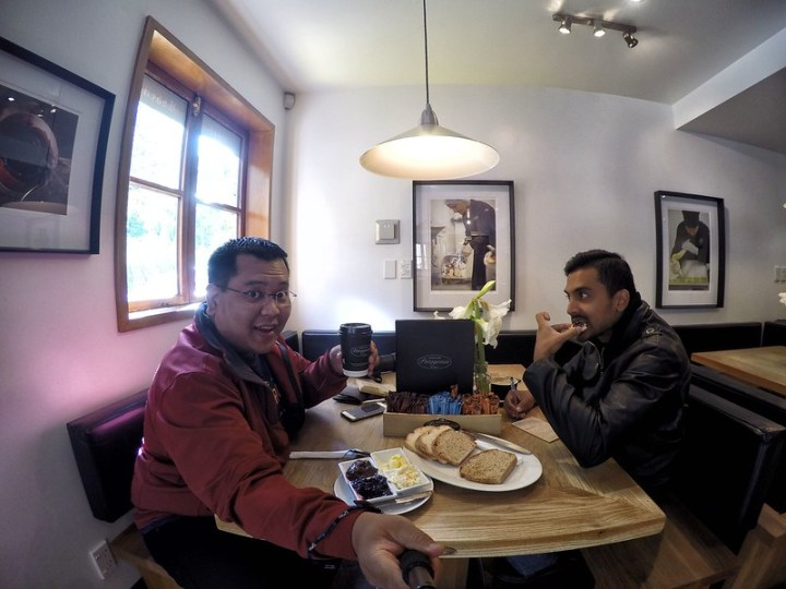 Breakfast @ Patagonia Chocolates Cafe