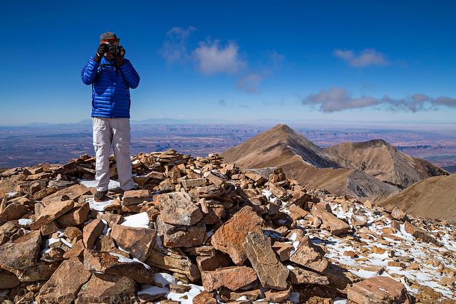 Mount Peale Summit