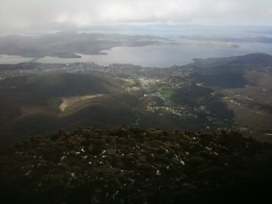 Hobart - view from Mt. Wellington