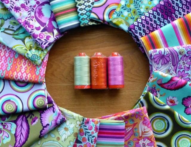 Tula Pink & Aurifil giveaway