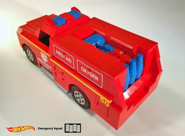 Emergency Squad Lego MOC 8 of 11