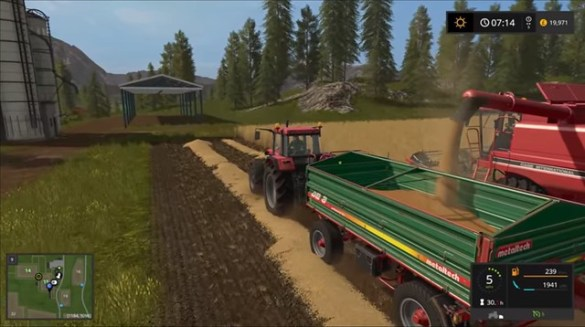 Farming Simulator 2017 - Harvester