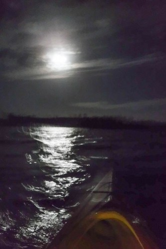 Indian River Sunrise and Moonset-25
