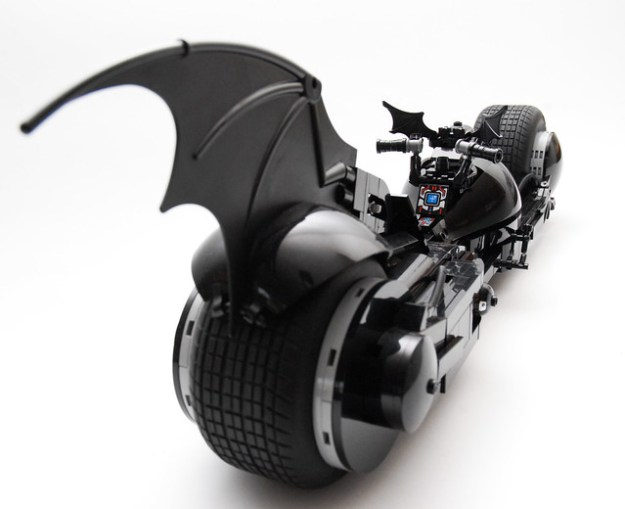 What If The Tim Burton Batmobile Had A Batpod The Brothers Brick