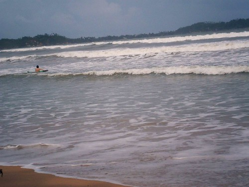 Paddle Out Weligama Beach