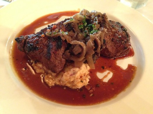 Tournedos of Black Angus Beef, Commander's Palace, New Orleans