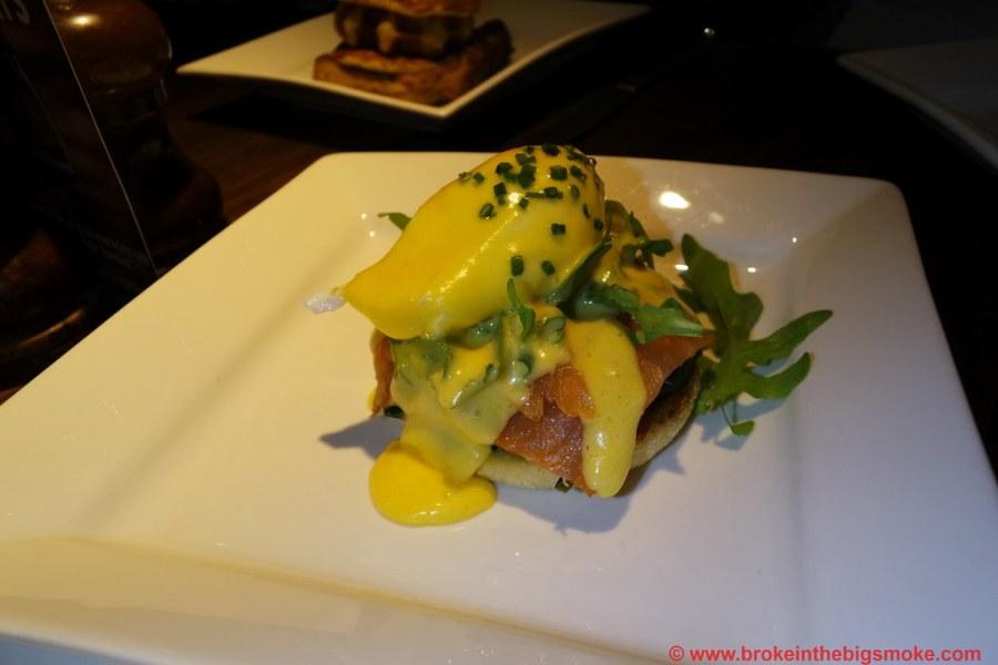 Heliot steakhouse eggs royale