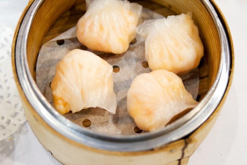 Har gow (shrimp dumplings)