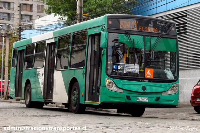Transantiago | Buses Vule | Caio Mondego H - Mercedes Benz O500U / BJFS83