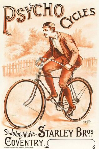Psycho Cycles Poster (1892)