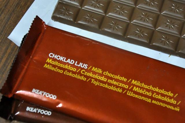 Ikea Food Choklad Mork