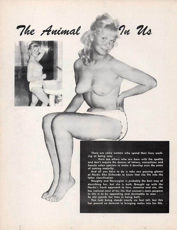 Elke Eichwede Blast! #1 Vingage Men's Mag