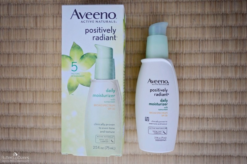 Aveeno Positively Radiant SPF 30 Moisturizer Review