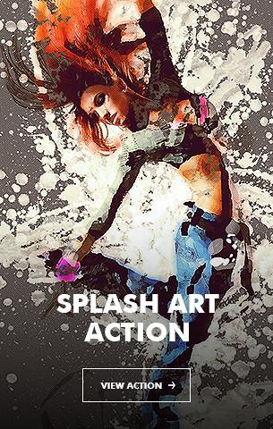 Ink Spray Photoshop Action V.1 - 27