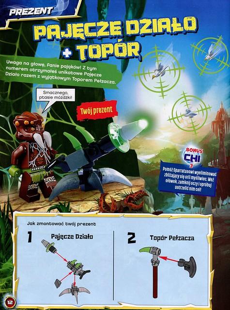 LEGO Legends of Chima Oficjalny Magazyn 2014-03 04