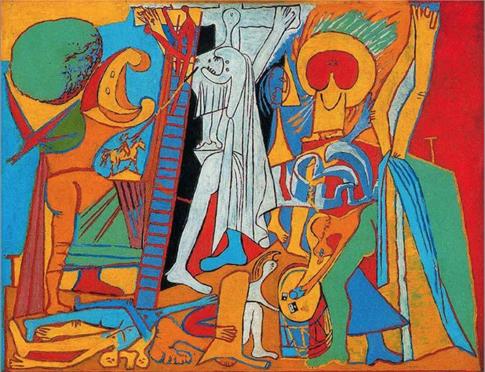 16g03 Crucifixion1930 Pablo Picasso