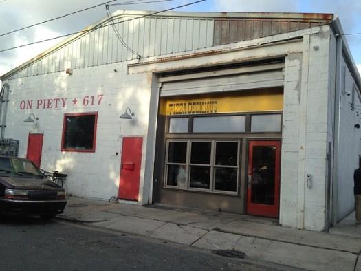 Pizza Delicious, New Orleans LA