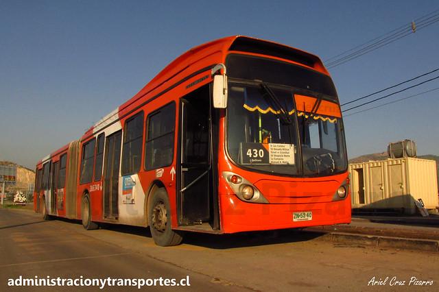 Transantiago - 430 | Express | Marcopolo Gran Viale - Volvo B9 SALF / ZN5340 (Articulado)