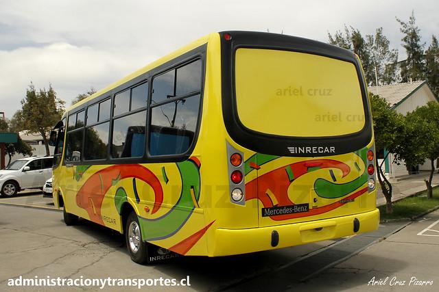 Inrecar S.A   Entrega de Bus Nuevo   Inrecar Géminis II - Mercedes Benz para Transportes Ganosa