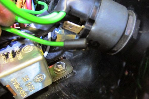 Green Wire Goes to Ignition Switch