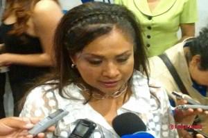 Galindo y Velasco vienen a apoyar a Carreras, porque lo necesita: Sonia Mendoza