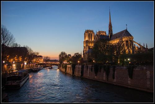 Notre-Dam Nightfall