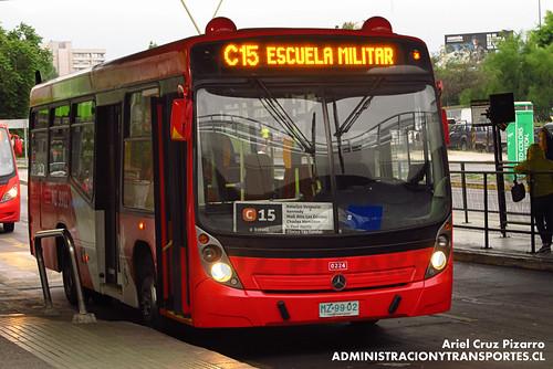 Transantiago - Redbus Urbano - Neobus Mega LE / Mercedes Benz (MZ9902)