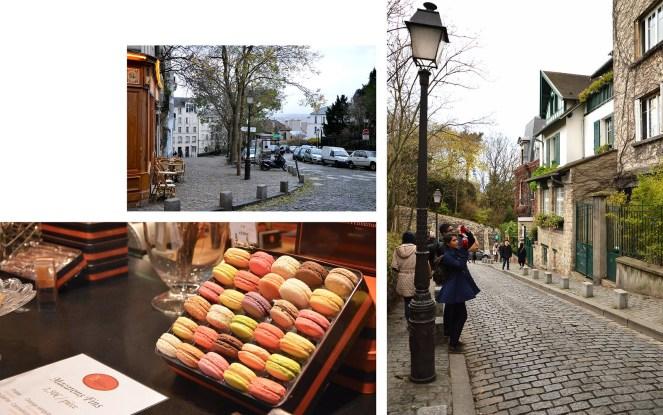 Montmartre, Paris, photography, architecture, paris street, macarons, cafe